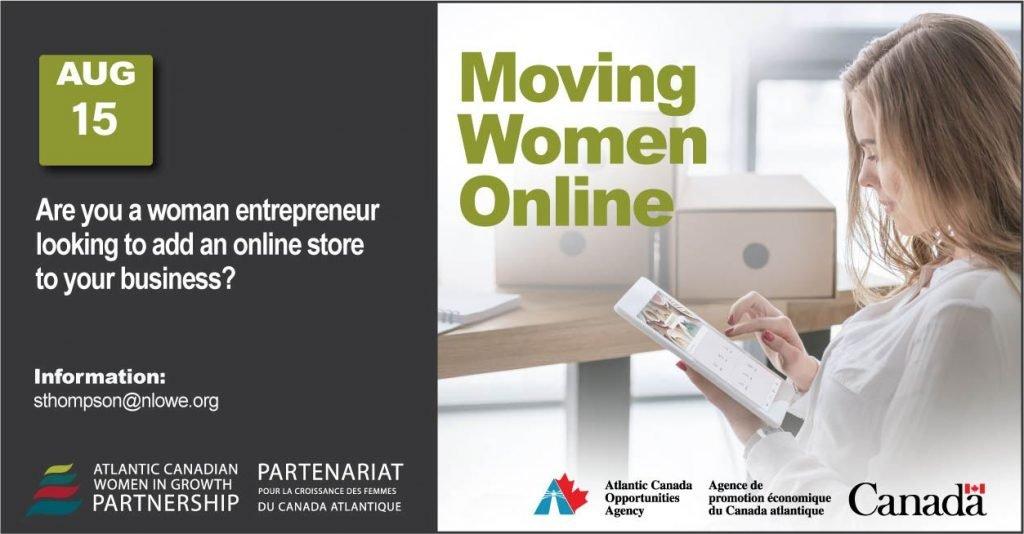 Moving women online english